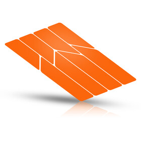 Riesel Design re:flex Adesivi riflettenti per telai, orange